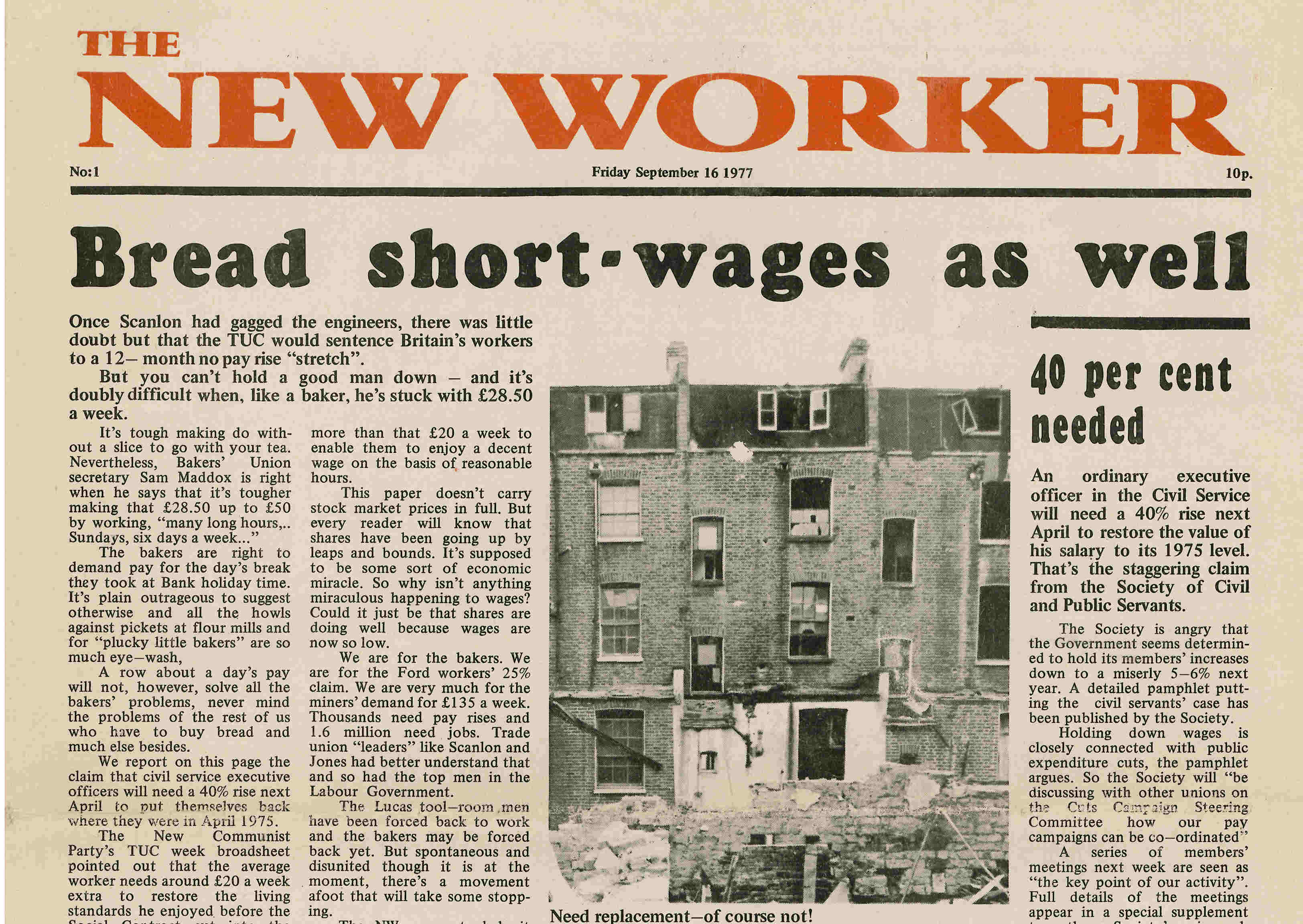 New Worker - 16th September 1977