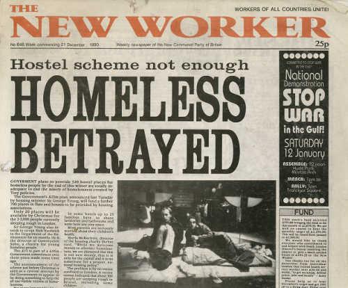New Worker - 21st December 1990