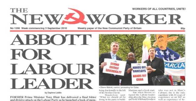 New Worker - 3rd September 2010