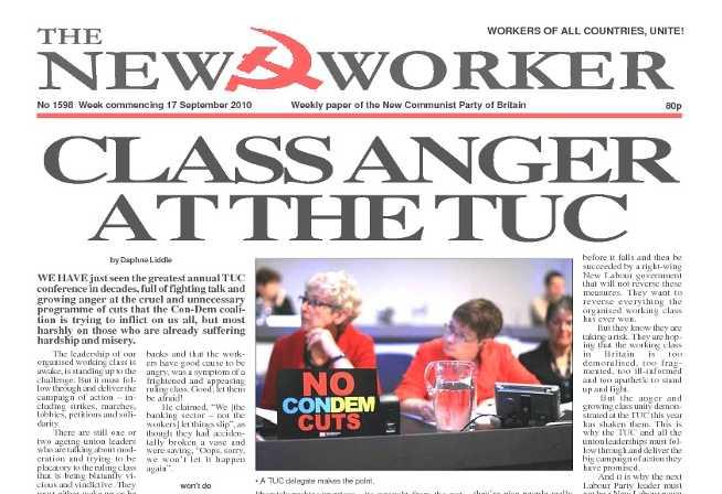 New Worker - 17th September 2010