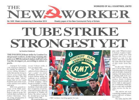 New Worker - 3rd December 2010