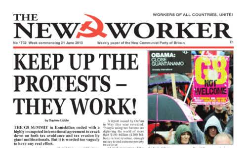 New Worker - 21st June 2013