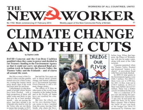 New Worker - 21st February 2014