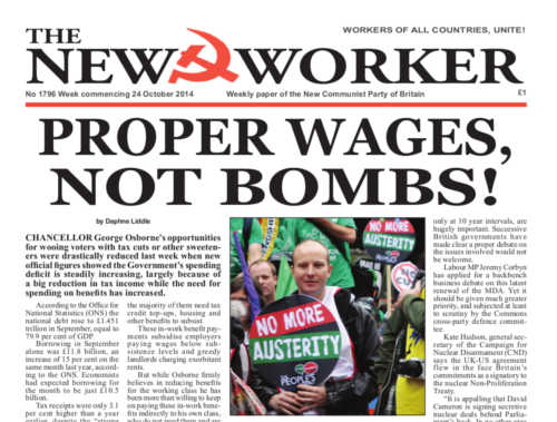 New Worker - 24th October 2014