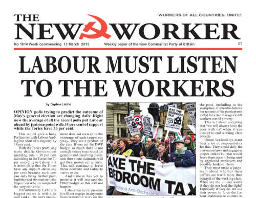 New Worker - 13th March 2015