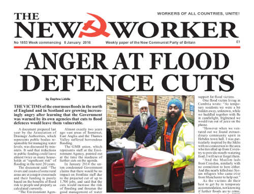 New Worker - 8th January 2016