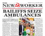 Bailiffs seize ambulances