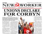 Unions declare for Corbyn