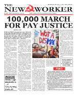 100,000 march for pay justice