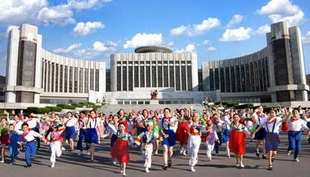 Mangyongdae Children's Palace, Pyongyang