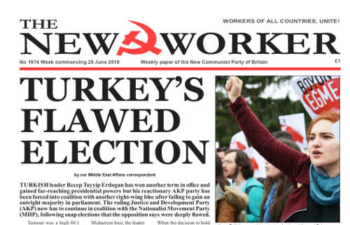 TURKEY'S FLAWED ELECTION