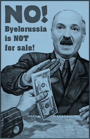 Poster: Byelorussia is not for sale
