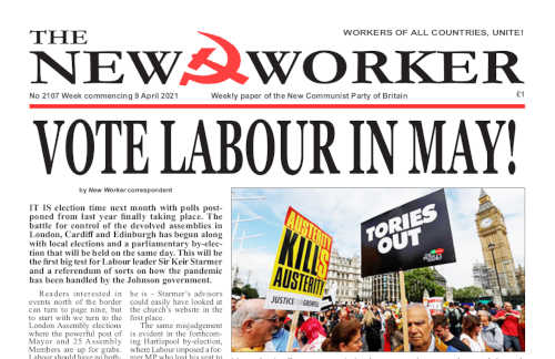New Worker - 9th April 2021