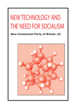 New technology and the need for socialism
